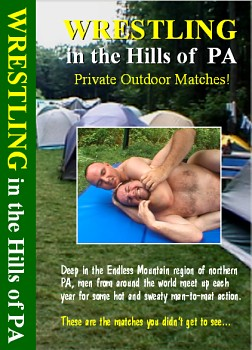 Wrestling in the Hills of PA video. Private Outdoor Matches!